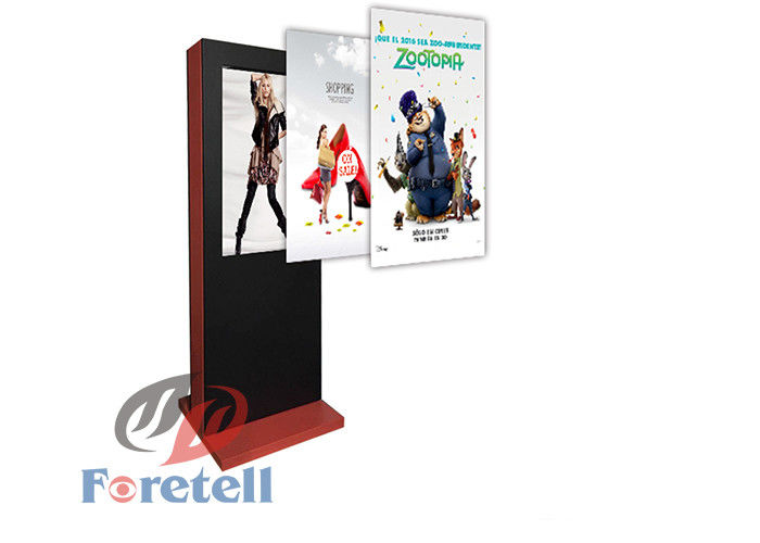 Customizable Weather outdoor Digital Signage , Full Screen University Digital Signage  Anti - Dust