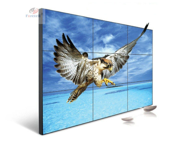 LG Panel 49 Inch 2K LCD Video Wall Display Outdoor Support Multi Interface Input