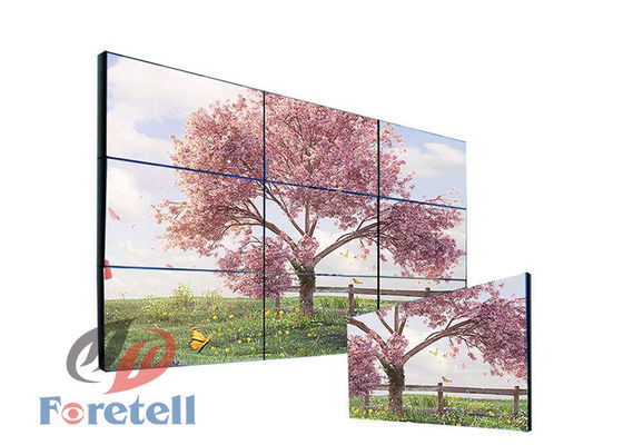 Lampu LED Backlight Multi Screen Tv Wall Commercial Wall Display Systems Untuk Toko Ritel