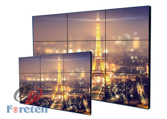 LG 1.8mm Sempit Beze LCD Layar Sentuh Video Wall Indoor Multi Touch Lcd Monitor Panel